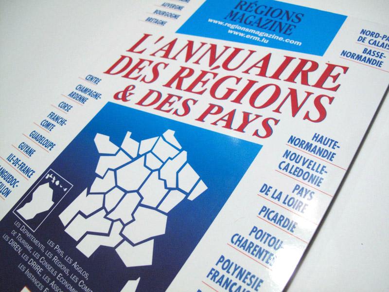 Annuaire des Régions