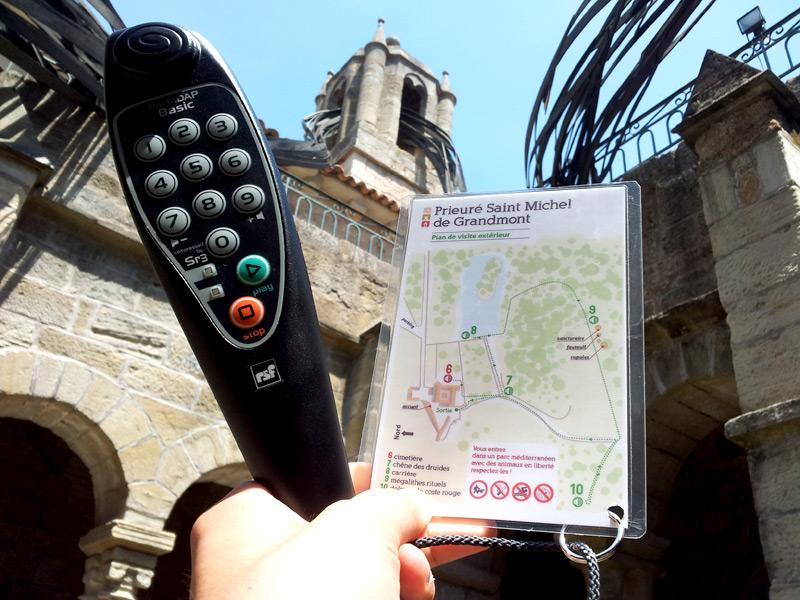Signalétique pour audio-guide