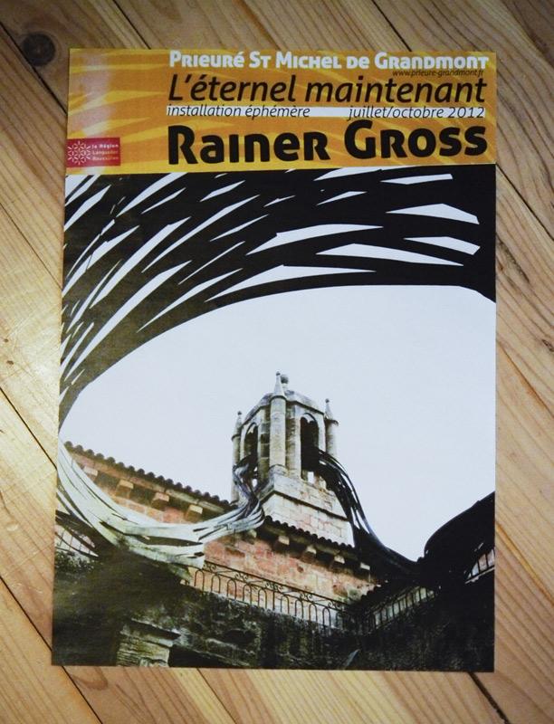 Rainer Gross au Prieuré St Michel de Grandmont