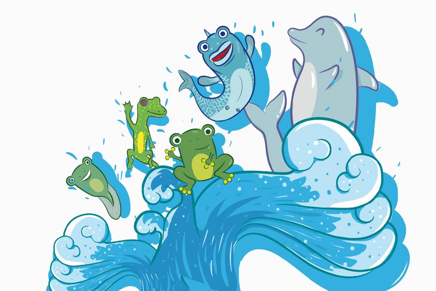 Illustration Quinzaine aquatique